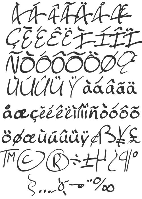 Ellianarelle\'s Path symboles et accents